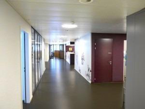 Korridor Gruppenpraxis